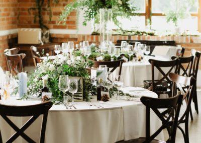 wesele stół resta