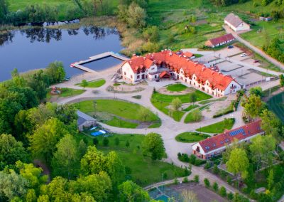 mazury-folwark-łękuk-las-krajobraz