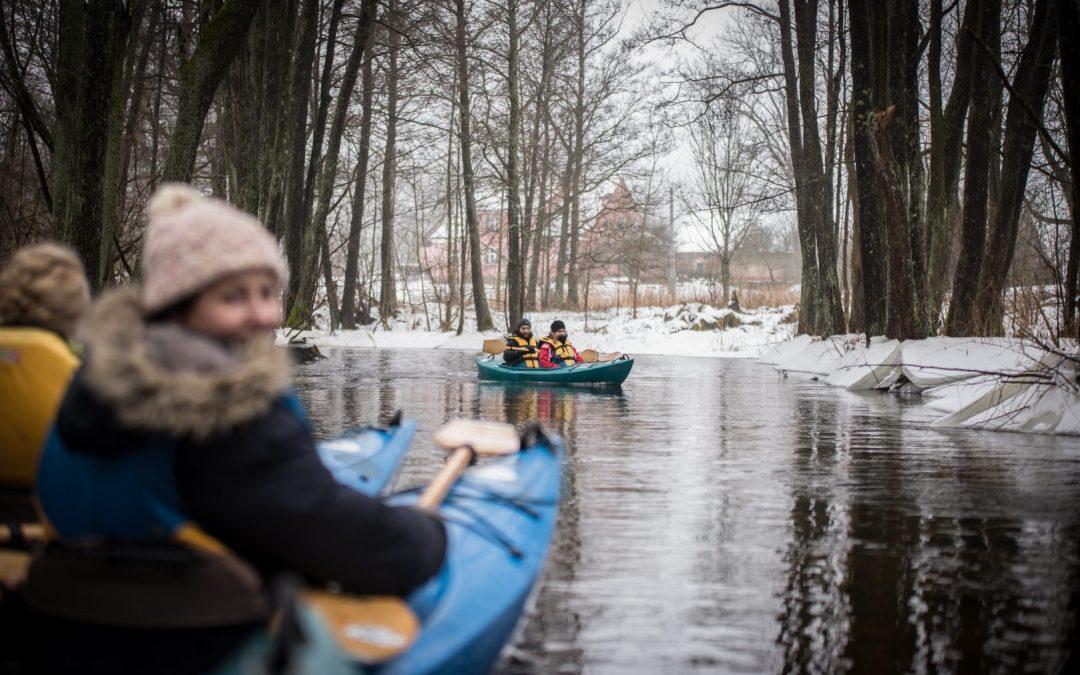 VI Mazurski Spływ Zimowy Łaźną Strugą, 6-8 lutego 2015