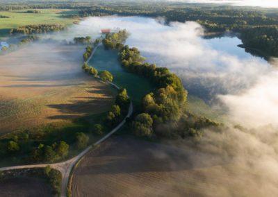 mazury mgla