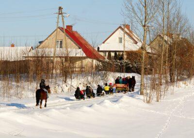 Zima kulig