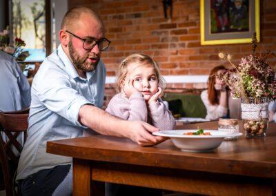 Restauracja obiad rodzinny