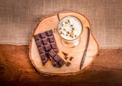 Restauracja gorąca czekolada