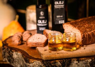 Przetwory olej łękucki