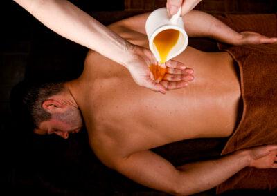 SPA olej do masazu