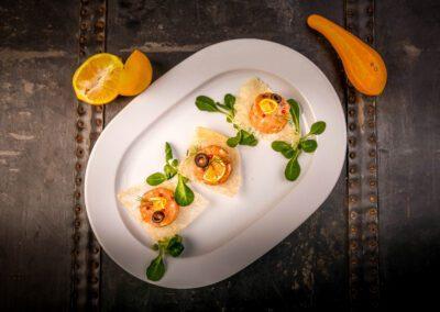 Catering tatar z lososia 2