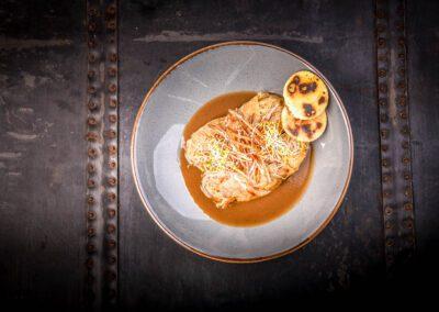 Restauracja Gołąbki z pęczakiem i grzybami