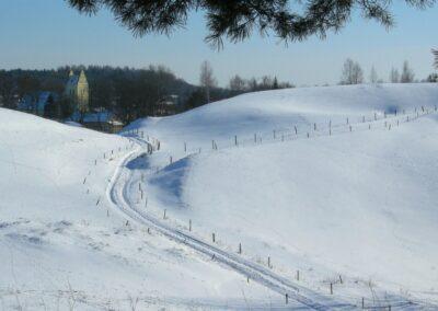 Mazury zimą fot. Andrzej Sulej