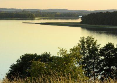 Widok na jezioro Łękuk