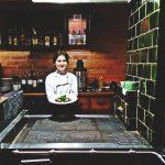 Restauracja Ogień i Woda - prezentacja posiłku