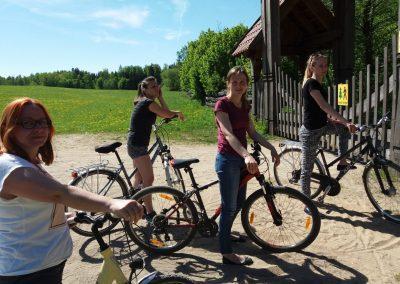 Wycieczka rowerowa na Mazurach