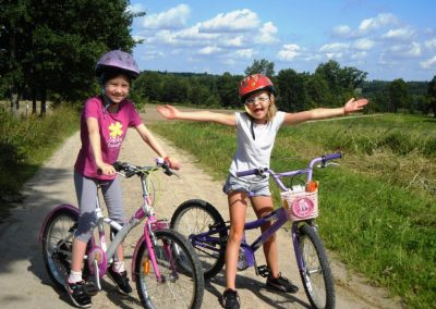 Wycieczki rowerowe na Mazurach