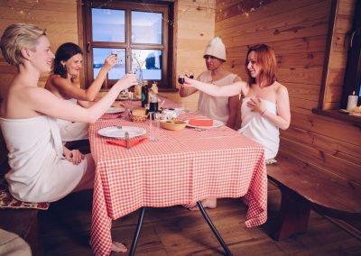 Impreza w Ruskiej Bani