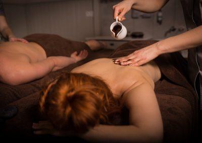 SPA Mazury masaż czekoladą