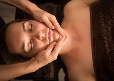 SPA masaż twarzy