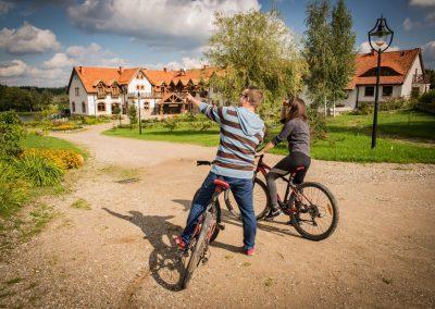 Wycieczka rowerowa mazury