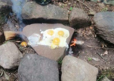 Warsztaty survival bushcraft - gotowanie