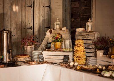 Słodki stół na wesle | fot. Aneta Zimoląg