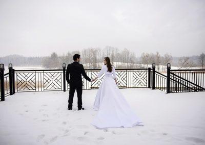 Wesle zimą na Mazurach