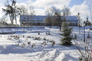 Prawdziwa zima na Mazurach