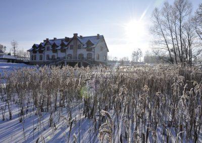 Słoneczna zima na Mazurach
