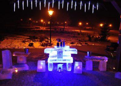Bar lodowy - Shot Bar - Bal zimowy